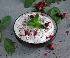 Mast o Khiar (Persian Yogurt and Cucumber Dip) is a Persian classic is healthy, easy and refreshing. Assemble it in just 5 minutes!