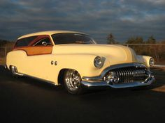 52 Buick Roadmaster Woodie