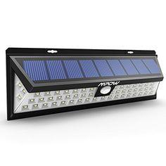 [54 LED] Mpow Lampe solaire extérieure étanche IP65 1188 lumens Luminaire exterieur/ Spot exterieur 120 ° Grand Angle reglable avec…