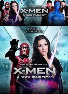 XXX-Men: Psylocke vs Magneto - A XXX Parody (2016) English 480p BRRip