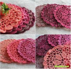 Crochet Coasters + Diagram