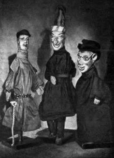 Пульчинелло, Петрушка, Полишенель, Панч и другие - Кукольный домик