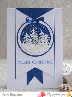 1st Christmas, Simple Christmas, Christmas Cards, Christmas Scenes, Beautiful Christmas, Handmade Christmas, Holiday Cards, Dad Birthday, Birthday Cards