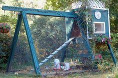 Swing Set Coop A Frame