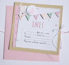 Invitations anniversaire fille x8 par lovelystuff4kids sur etsy avant premire 4enscrap jour 2 stopboris Choice Image