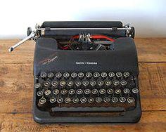Machine à écrire Smith-Corona