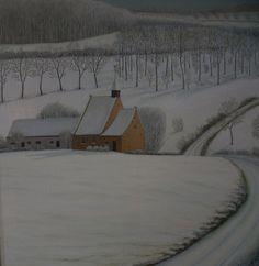 dany persoons, Winters van vroeger ( détail ) on ArtStack #dany-persoons #art