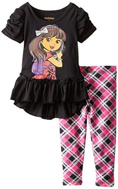 Nickelodeon Little Girls' 2 Piece Dora and Friends Legging Set, Black, 4T Nickelodeon http://www.amazon.com/dp/B00YP4ANDQ/ref=cm_sw_r_pi_dp_tgpqwb0AZ71H6