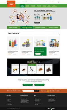 30 best web design portfolio images on pinterest in 2018 portfolio pest control service website template this sleek designed pest control web design template includes all necessary elements required for the pest control accmission Gallery