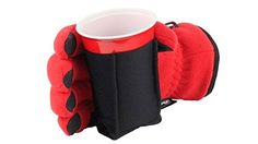 The Tailgator Beverage Koozie GloveGloves to keep your hands warm and your drink. The Tailgator Beverage Koozie GloveGloves to keep your hands warm and your drink cold while tailgat Tailgate Drinks, Tailgating Recipes, Tailgating Gear, Best Chip Dip, Best Chips, Beer Dip, Cincinnati Chili, Best Gloves, Game Day Snacks