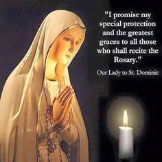 Our Lady of Fatima! Holy Mother Mary, please pray for us. Catholic Religion, Catholic Quotes, Rosary Catholic, Catholic Prayers, Rosary Quotes, Blessed Mother Mary, Blessed Virgin Mary, Mother Mary Quotes, Holy Mary