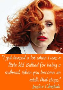 Jessica Chastain Famous Redhead