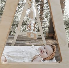 The cutest baby girl using our wooden play gym and teethers! #thebabyniche #teether #teething #babyessentials #babygifts #babyshowergifts #babyboy #babygirl #musthave #canadian #yyc #momlife #mompreneur #babygear #modernmom #modernbaby #teethingtips #babytips #babytoys #wheatlandwoodshop #woodentoys #toys #playgym #playroom #nursery #babyproducts #nurserydecor #babylove #babystuff #babygirlclothes Baby Shower Gifts, Baby Gifts, Handmade Baby Items, Wooden Baby Toys, Play Gym, Baby Must Haves, Teething Toys, Cute Baby Girl, Baby Bows