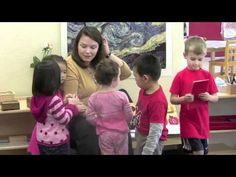 How to Choose a Montessori Preschool - excellent example of a good montessori environment.  ;)