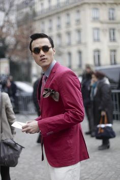 Wang Fei. Now that's another colour men should get behind.