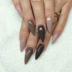 Nail chocolat