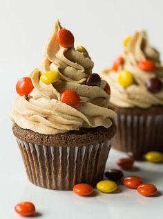 Cupcakes doble de Reese