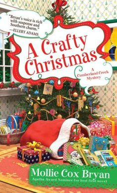 A Crafty Christmas (Cumberland Creek Mystery Series #5) by Mollie Cox Bryan