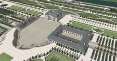 chateau de bellevue pavillon central