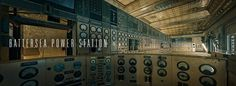 Battersea Power Station Control Room - Will Pearson - Panoramic Photographer London