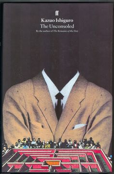 book cover of 'The Unconsoled' by Kazuo Ishiguro