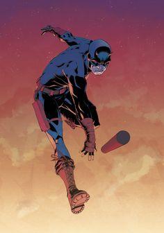 All-New, All-Different Daredevil - Ruairi Coleman, Colors: Chris O'Halloran
