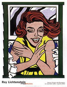 Girl at Window Art Print by Roy Lichtenstein