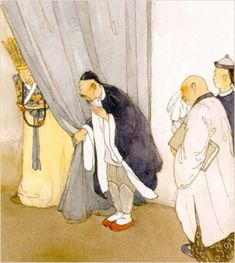 Lisbeth Zwerger illustrates The Nightingale