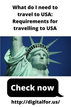 "So you are planning to travel to the USA in the near future, but you are not sure about the requirements you have to meet? There is a good reason to ask yourself: ""what do I need to travel to USA?"" If you want to successfully travel to the USA, you have to make sure to know what documents you need to obtain and what other requirements you have to meet Near Future, Your Life, Travel Usa, How To Plan, How To Make, Travelling, Investing, Knowledge, Meet"