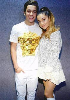 Ariana Grande and her boyfriend Ian.#Gold
