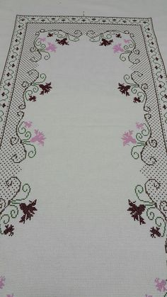 "Burcinnnnn ""This post was discovered by Esr"" Cross Stitch Heart, Cross Stitch Borders, Cross Stitch Designs, Cross Stitching, Cross Stitch Embroidery, Hand Embroidery, Machine Embroidery, Embroidery Patterns Free, Embroidery Designs"