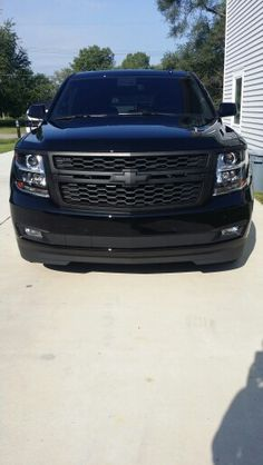 2015 Chevy Tahoe Keeping original Grill idea--- but any rocks flying up or etc. would chip the grill paint I'm thinking