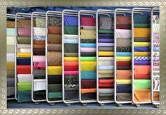 (11) 3322-0611 – E-mail: brasnyl@brasnyl.com.br Art Supplies, Bookcase, Home Decor, Knit Crochet, Lugares, Bookshelves, Interior Design, Home Interior Design, Book Stands