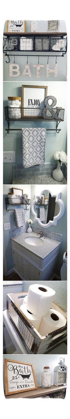 Bathroom Decor. Crea