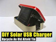 DIY Solar USB Charger,DIY,solar,alternative energy,prepping,survival,gadget,gear,survival gear,shtf,