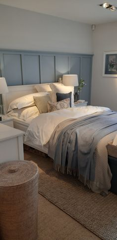 Guest Bedroom Decor, Room Design Bedroom, Master Bedroom Makeover, Bedroom Styles, Guest Bedrooms, Bedroom Colors, Dream Bedroom, Home Bedroom, Beautiful Bedrooms
