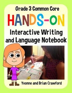 Interactive Writing and Language Notebook Hands-On Third Grade $