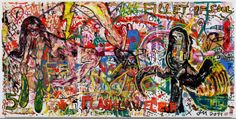 "Bernier/Eliades Gallery | Jonathan Meese | ""DJANGO'S BLITZPIMMEL HEISST NILL"", 2011