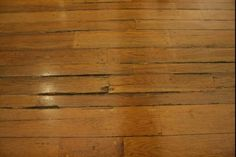 How to Fix Sagging, Sloping Floors: Cracked and Saggy Wood Floor In Need of Repair Types Of Wood Flooring, Old Wood Floors, Hardwood Floors, Flooring Ideas, Diy Flooring, Wooden Flooring, Small Basement Remodel, Basement Remodeling, Bedroom Remodeling