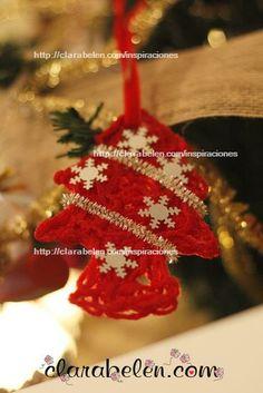 Manualidades para niños: Árbol de Navidad hecho con lana