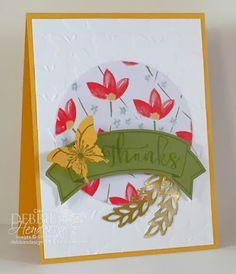 Stampin' Up! Paper Pumpkin October Kit with my Alternative Projects. Debbie Henderson, Debbie's Designs.