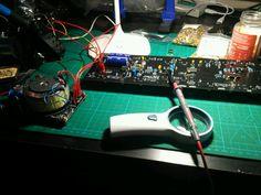 RSF Kobol Expander I Clone Controls panel and PSU AC In Board