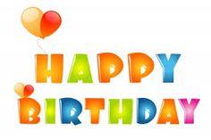 Resultado de imagen para letreros de feliz cumpleaños