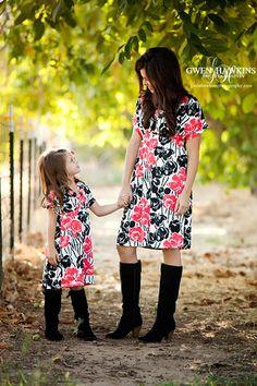 mother daughter matching dress dresses