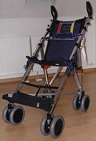 Stroller for adult-baby, how to use abdl-harness on a Elite Maclaren Buggy Major #abdl #harness