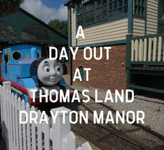 Family Day out at Thomas Land Drayton Manor, Theme Park, Toddlers, Family Days out, Kids Day Out, Midlands, Staffordshire, UK Family Days Out, UK Best Theme Park, Thomas the Tank Engine.