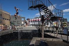 Wellington Diving Platform Participatory and experiential lookout