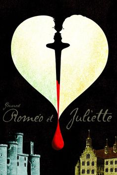 Romeo et Juliet - Charles Gounod / Vancouver Opera Poster William Shakespeare, Romeo And Juliet Poster, Romeo And Juliet Musical, Juliet Movie, Illustrations, Illustration Art, Ballet Posters, Play Poster, Romeo Y Julieta