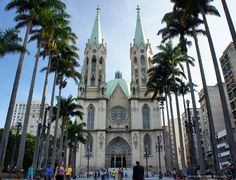 Se Square and Sao Paulo´s Cathedral  Sao Paulo, Brazil