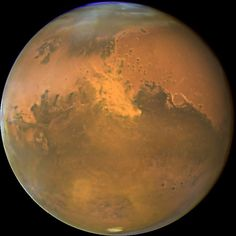Mars is seen in a NASA Hubble Space Telescope image released on November 3, 2005